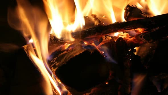 Thumbnail for Log Fire Wood Heat Light 4