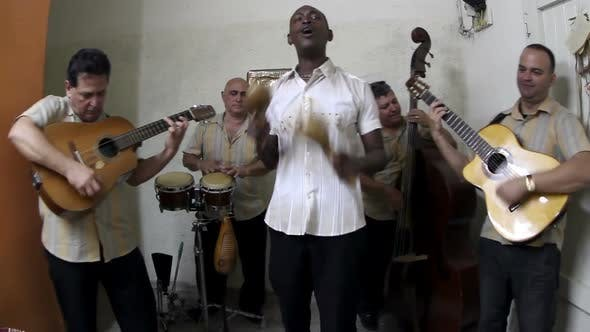 Thumbnail for The Cuban Band Eco Caribe Filmed Performing In Havana. All Band Members Are Model Released. 2