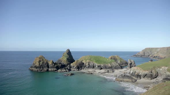 Thumbnail for The Stunning And Dramatic  Coastline At Kynance Cove On The Cornwall Coast, England 1