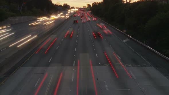 Thumbnail for Los Angeles Freeway Traffic - Clip 7