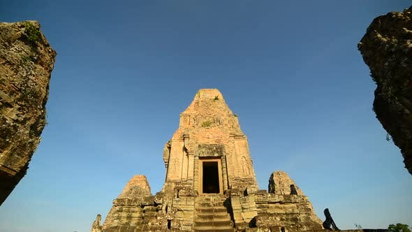 Thumbnail for Ancient Temple Room On Top Of Temple  - Angkor Wat Temple Complex, Cambodia