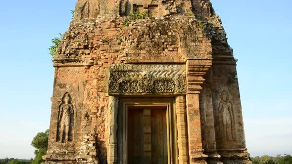 Thumbnail for Ancient Temple Room On Top Of The Temple  - Angkor Wat Temple Complex, Cambodia