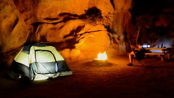 Thumbnail for Camping In The California Desert - Joshua Tree National Park 2