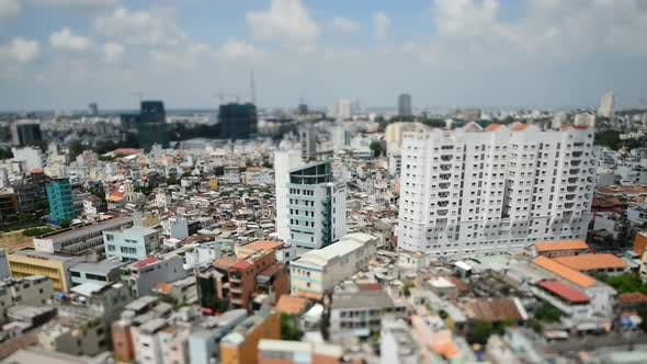Thumbnail for View Of Ho Chi Minh City  Vietnam From Above 2