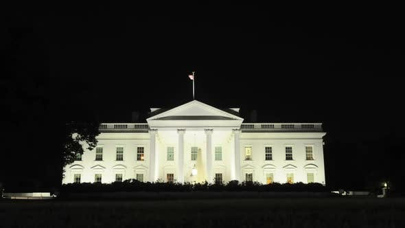 Thumbnail for The White House At Night 1