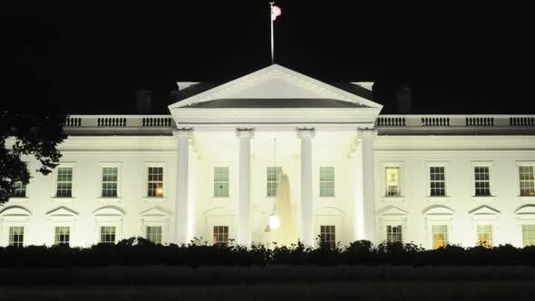 Thumbnail for The White House At Night 3