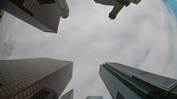 Thumbnail for Clouds And Office Buildings In Los Angeles  - 2