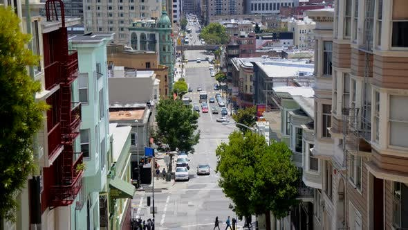 Cover Image for Traffic In Chinatown San Francisco 1
