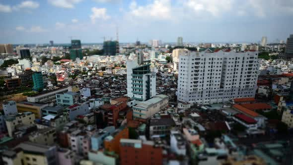 Thumbnail for Clouds And Shadows Passing Over Ho Chi Minh City (Saigon) 1