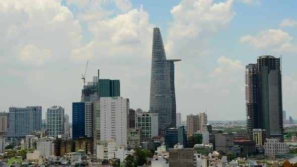 Thumbnail for Clouds And Shadows Passing Over Ho Chi Minh City (Saigon) 11