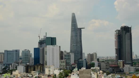 Thumbnail for Clouds And Shadows Passing Over Ho Chi Minh City (Saigon) 12