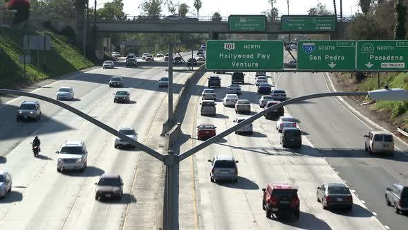 Thumbnail for Los Angeles Freeway Traffic 1
