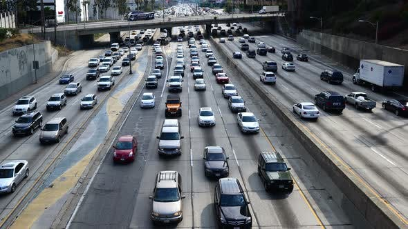 Thumbnail for Traffic In Downtown Los Angeles - 3