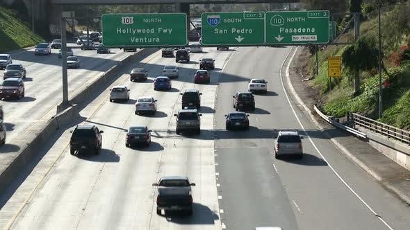 Los Angeles Freeway Traffic 2