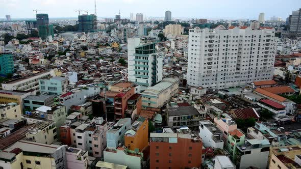 Thumbnail for Clouds And Shadows Passing Over Ho Chi Minh City (Saigon) 3