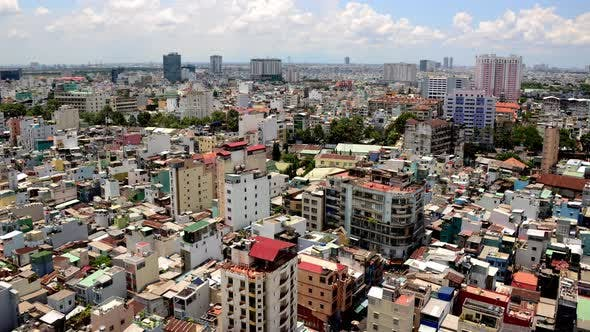 Thumbnail for Clouds And Shadows Passing Over Ho Chi Minh City (Saigon) 7