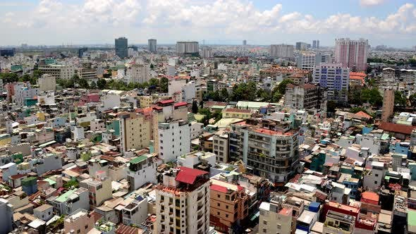 Thumbnail for Clouds And Shadows Passing Over Ho Chi Minh City (Saigon) 8