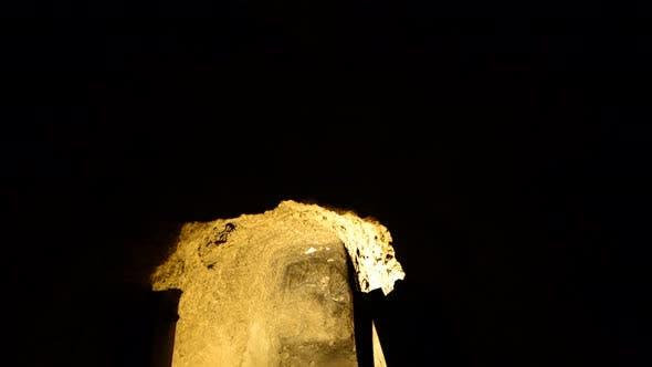 Thumbnail for Abandon Gold Silver Mine At Night - 2