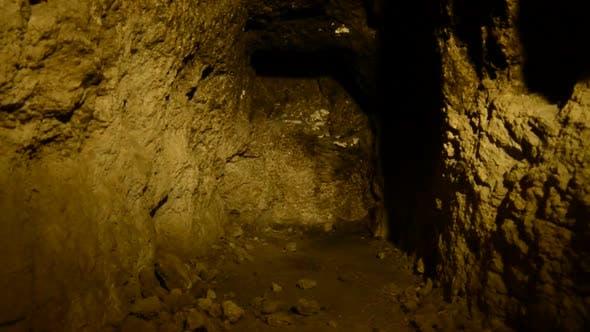 Thumbnail for Abandon Gold Silver Mine At Night 5