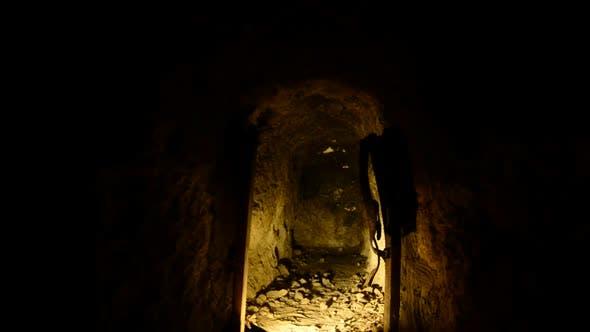 Thumbnail for Abandon Gold Silver Mine At Night 7
