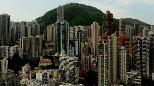 Thumbnail for Clouds Over Hong Kong Skyline - Hong Kong China 3