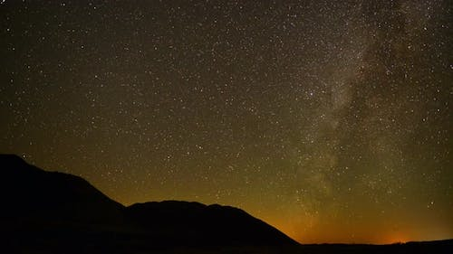 Perseids Meteor Shower In Mojave National Park - 1