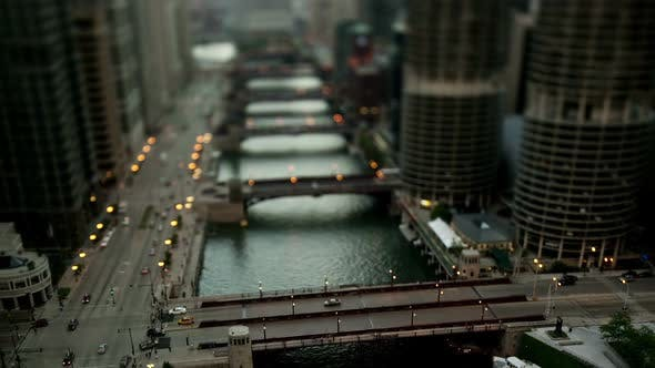 Cover Image for Downtown Chicago River