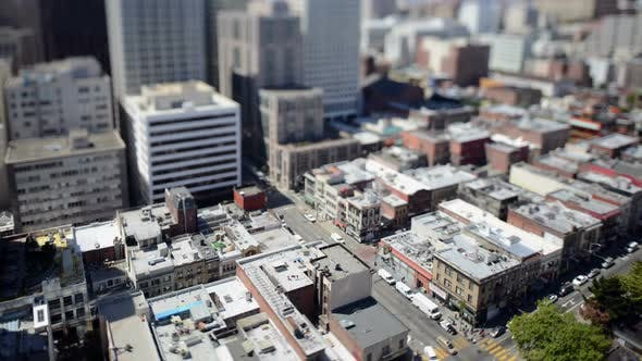 Thumbnail for Time Lapse Of Traffic In Downtown San Francisco - 4k 4