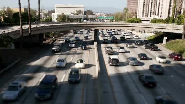 Thumbnail for Downtown Los Angeles Freeway