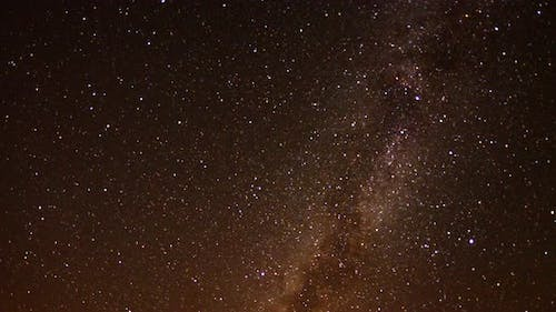 Perseids Meteor Shower In Mojave National Park -3