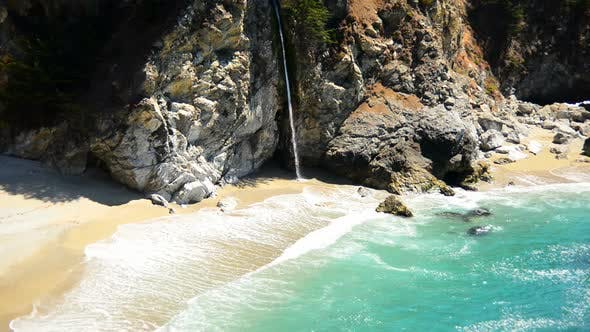 Thumbnail for Mcway Falls Beach, Big Sur California 6