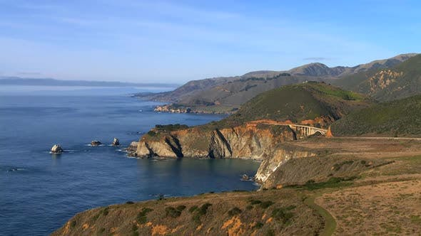 Thumbnail for Big Sur - California Coast - Clip 2