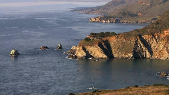 Big Sur - California Coast - Clip 4