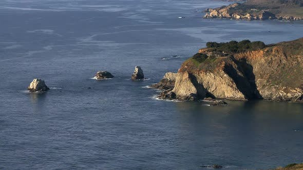 Big Sur - California Coast - Clip 6