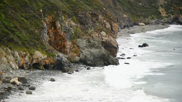 Big Sur California Coast Beach Scene