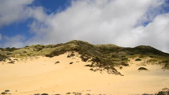 Thumbnail for Clouds Passing Over Sand Dune 1