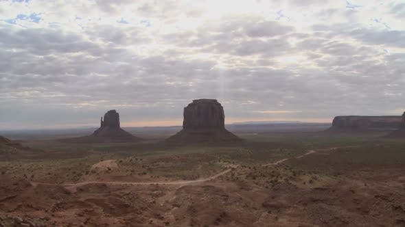 Thumbnail for Monument Valley Sun Shadows - Pretty - Clip 1