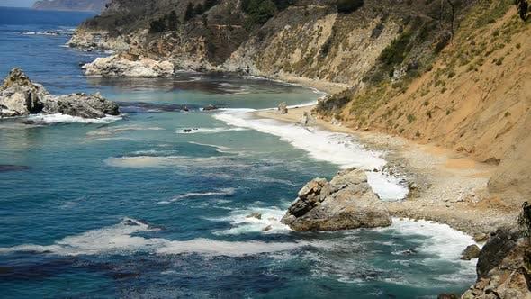 Thumbnail for Küste von Big Sur Kalifornien - Pazifischer Ozean 1