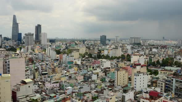 Thumbnail for Rain Clouds And Shadows Passing Over Ho Chi Minh City (Saigon) 2