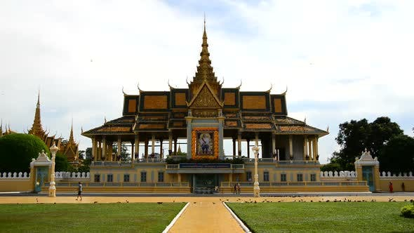 Thumbnail for Tourists Visiting The Kings Palace  - Phnom Penh Cambodia 3