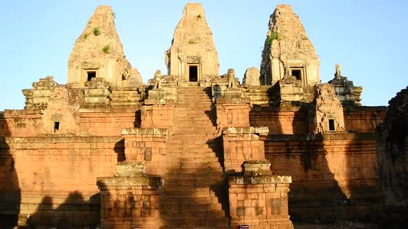 Thumbnail for Ancient Temple In The Morning - Angkor Wat Temple Complex, Cambodia