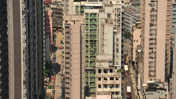 Thumbnail for Roads Between Tall Buildings - Hong Kong China