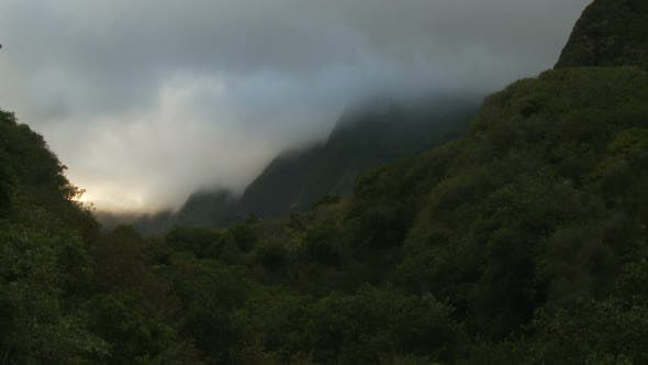 Thumbnail for Clouds, Mountains And Trees - Clip 4