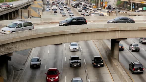Thumbnail for Heavy Traffic In Downtown Los Angeles 7