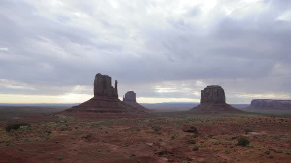 Thumbnail for Monument Valley At Sunrise