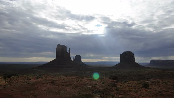 Cover Image for Monument Valley At Sunrise 2