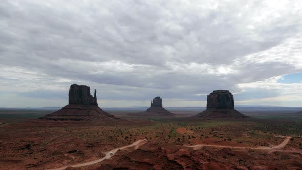 Thumbnail for Monument Valley At Sunrise - 3