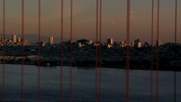 Thumbnail for San Fran Between Golden Gate Bridge Sunset