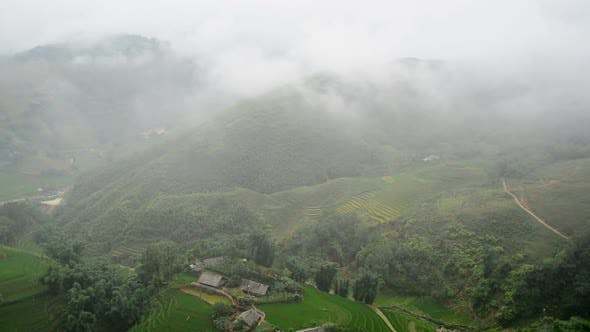 Thumbnail for Scenic Rice Terraces In The Northern Mountains Of Sapa Vietnam 1
