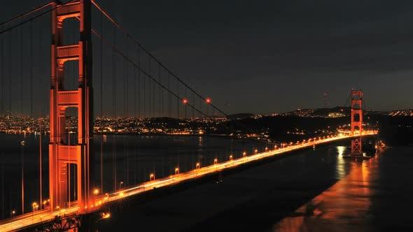 Thumbnail for San Fran Between Golden Gate Bridge Sunset - Clip 2